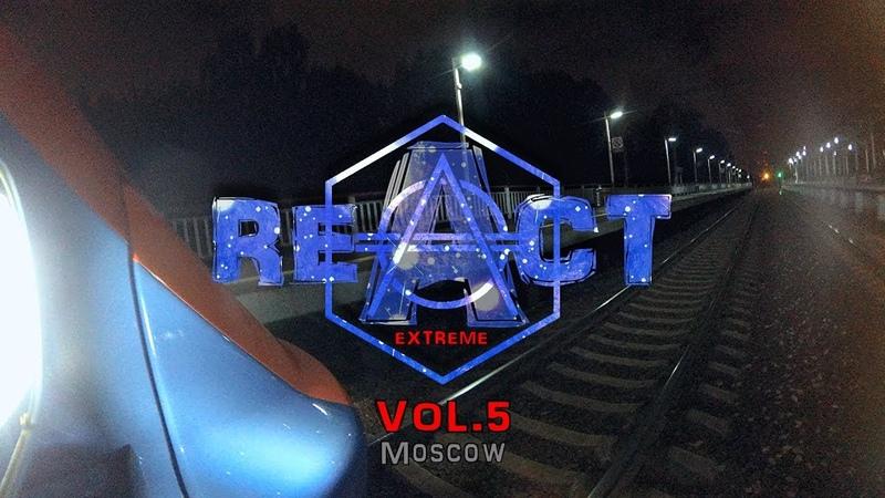 React Extreme - Фронт-зацепинг на электропоезде ЭГ2Тв на участке Очаково - Новопеределкино