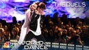 Jennifer Lopez Falls for Josh Taylor's Duels Performance World of Dance 2018 The Duels