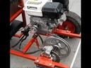 Embrague centrifugo casero y con multiplicador de fuerza