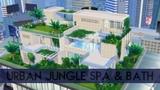 Sims 4 House Building Urban Jungle Spa &amp Bath
