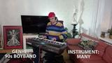 Музикант Гик исполняет Oasis Wonderwall