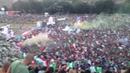 Inni d'Italia e di Spagna della finale di EURO 2012 presso il Circo Massimo.