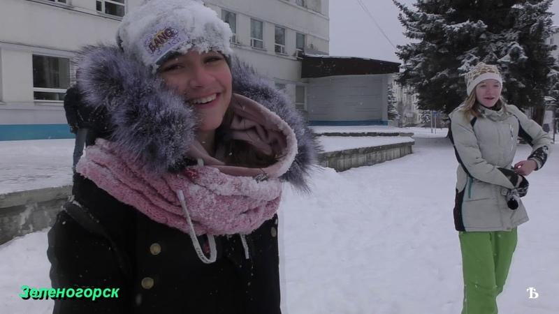 Кинозарисовка. Первый снег в Зеленогорске 05.11.2018