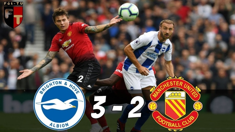 Brighton vs Manchester United 3 2 Highlights Extended All Goals 2018