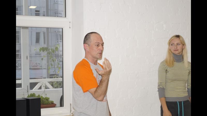 Ведущий курса Развитие себя через актерские технологии Жуков Анатолий