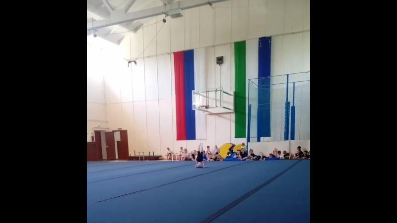 Соревнования по акробатике...2018...