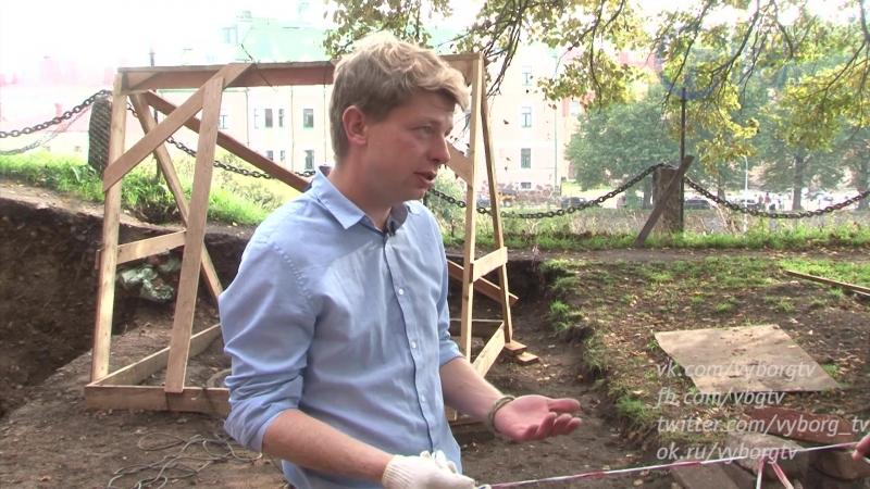 Тайный дом нашли археологи на Замковом острове