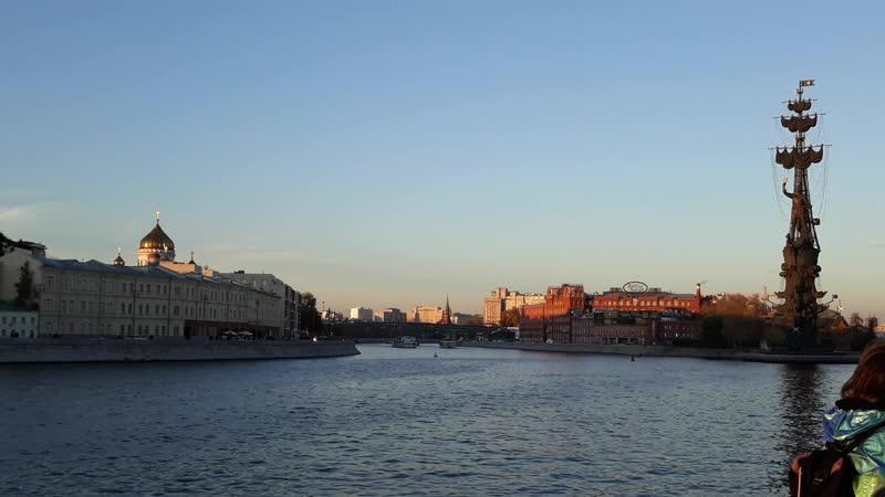 Крымская набережная в Москве 😜
