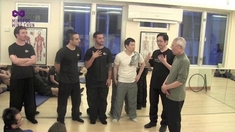 Wing Chun's Chi Sau - CST Wing Chun
