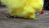 Дымовая завеса - двойной дым желтый MEGA SMOKING YELLOW - MA0514Y