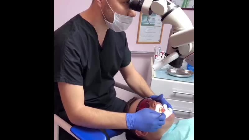 Лечение под эндомикроскопом в Эстетикс