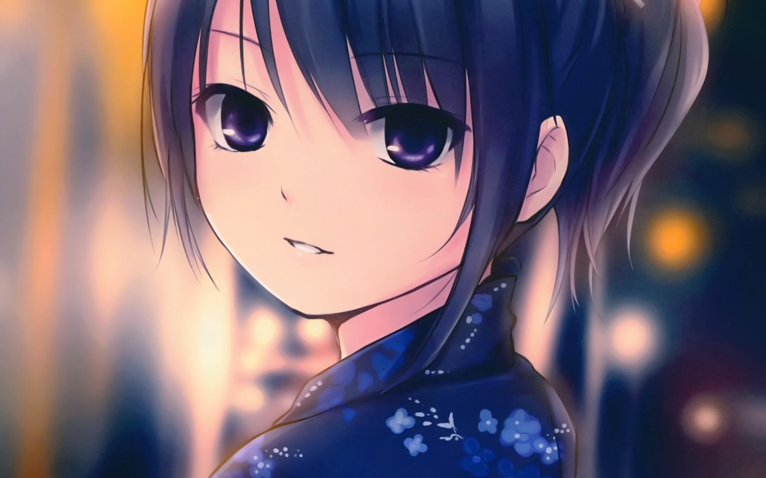 anime girl cute - HD2560×1600