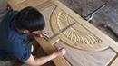Amazing Woodworking Skill Making A Front Door Beautiful Easy