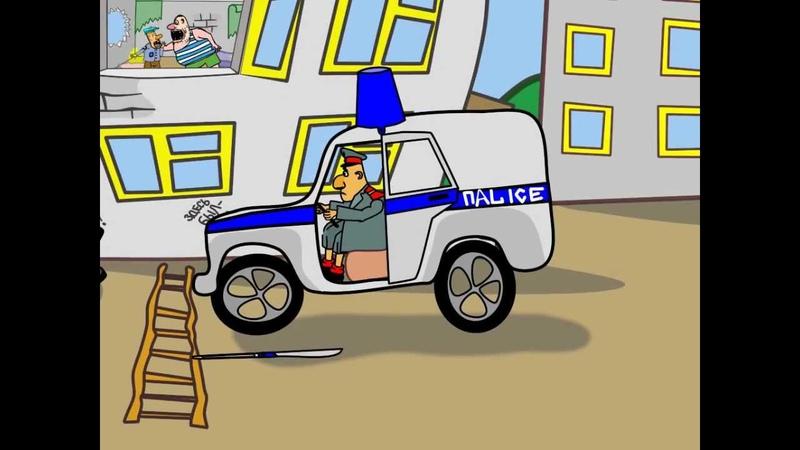 Сектор Газа. Мультипликационный клип.
