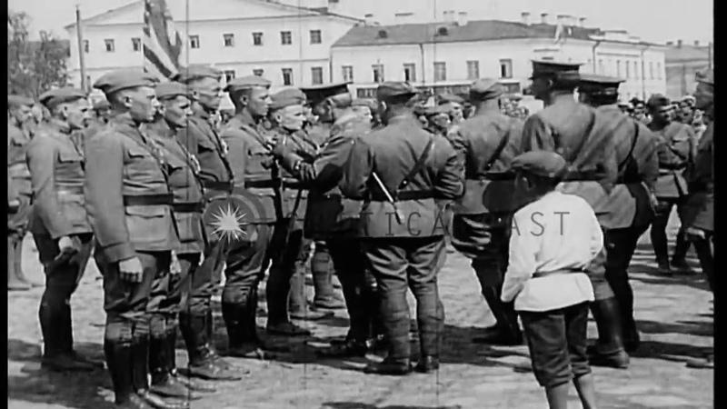 Американская интервенция в Россию. Архангельск, 1918 год
