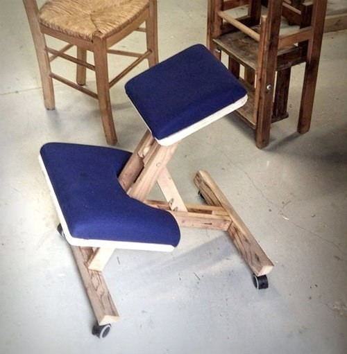 Ортопедический стул своими руками