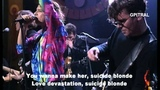 INXS - suicide blonde (lyrics)