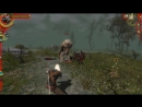 The Witcher: пацаны поясняют голему за шмот.