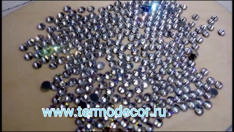 Стразы стекло Rhinestone ДМС ss16 (4мм) кристалл (фасовка 50стразуп)