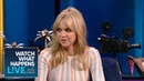 Anna Faris' Dinner With Goldie Hawn And Kurt Russell WWHL