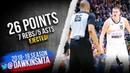 Nikola Jokic Full Highlights 2019.03.16 vs Pacers - 26 Pts, 7 Rebs, 5 Asts, EJECTED! | FreeDawkins