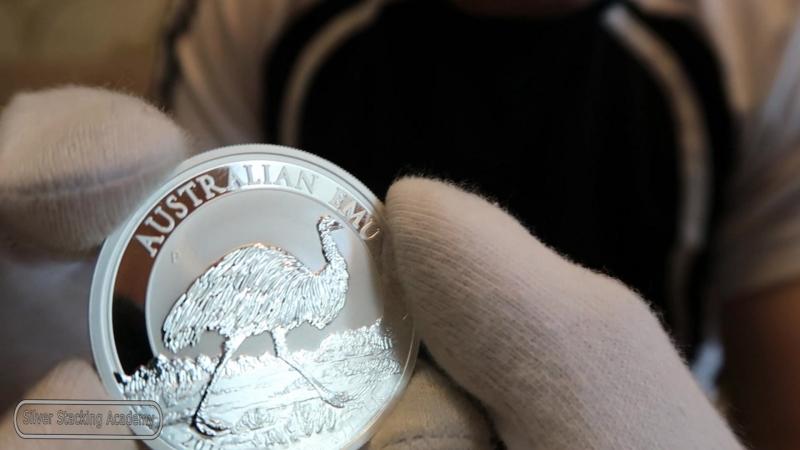 СЕРЕБРЯНАЯ И ЗОЛОТАЯ МОНЕТЫ РАЙСКАЯ ПТИЦА АВСТРАЛИИ 1 oz Silver Bird of Paradise coin