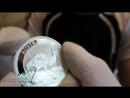 СЕРЕБРЯНАЯ И ЗОЛОТАЯ МОНЕТЫ- РАЙСКАЯ ПТИЦА АВСТРАЛИИ 1 oz Silver Bird of Paradise coin