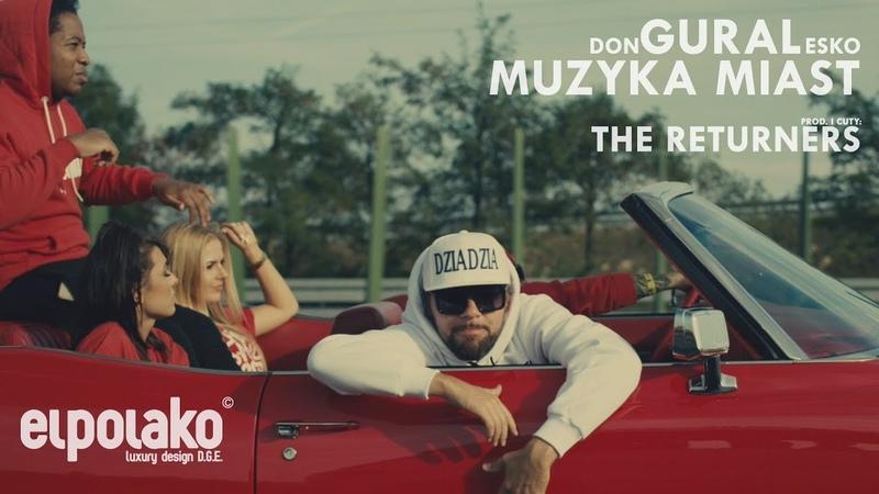 DonGURALesko - Muzyka Miast (prod. i cuty: The Returners) [album LATAJĄCE RYBY]