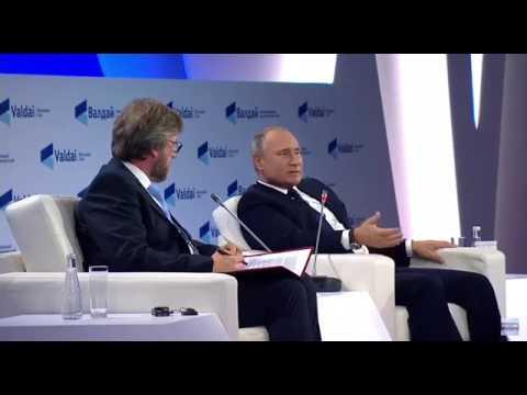 Путин про неизбежный ответный ядерный удар России