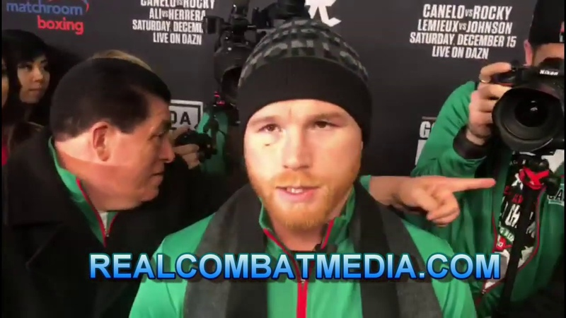 CANELO DISCUSSES HOW HE FEELS AT 168LBS