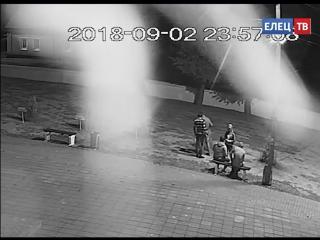 В сквере Ани Гайтеровой, ночью произошел акт вандализма