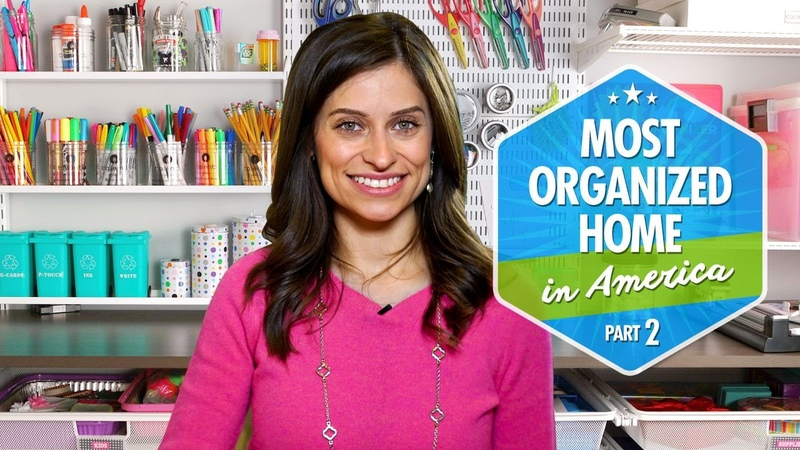 Most Organized Home in America (Part 2) by Professional Organizer Expert Alejandra Costello