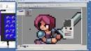 PIXEL ART IDLE ANIMATION - Pixel Art Timelapse - Pixel Art Games - Pixel Art Character
