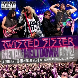 Twisted Sister альбом Metal Meltdown