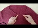 свитер оверсайз спицами экспресс мастер класс обзор пряжи holstgarn tides