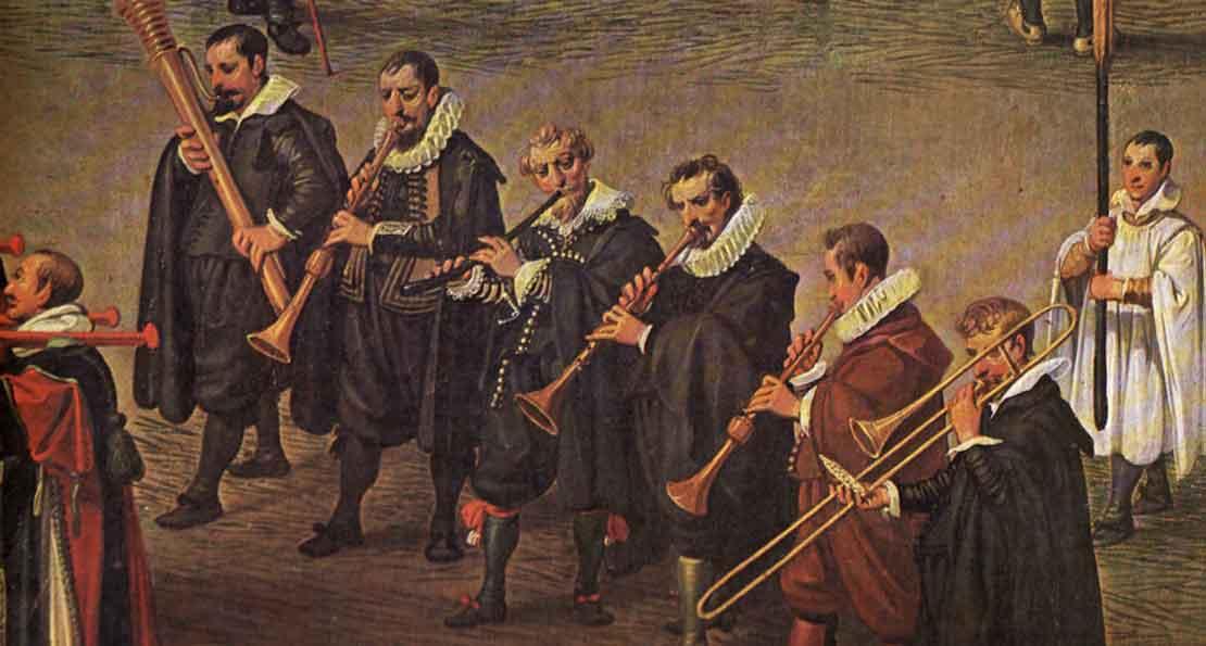 Шествие музыкантов
