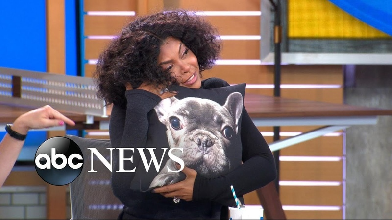 We gave Taraji P. Henson the most adorable pup-inspired gift!