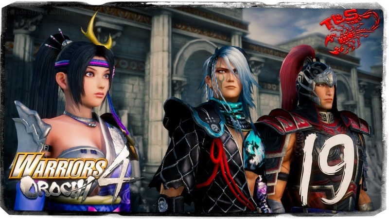Story Mode ◄ Warriors Orochi 4 ► 19 The Defense of Honnoji