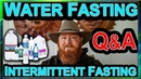 How I Lost 40 Pounds in 7 Days Water Fast and Intermittent Fasting Q A