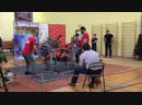 Жим 120кг на чемпионате края ( 78,2кг, 17 лет )