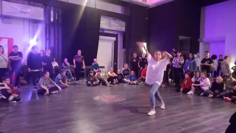 Юля - Отбор в hip-hop junior - Hip Hope Dance Battle