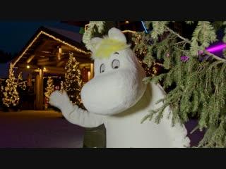 Открытие снежного замка Муми-троллей 20 декабря 2018