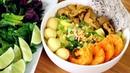 Mi Quang Vietnamese Noodles Quang Style with Pork Shrimp Mì Quảng Cách nấu Mì Quảng