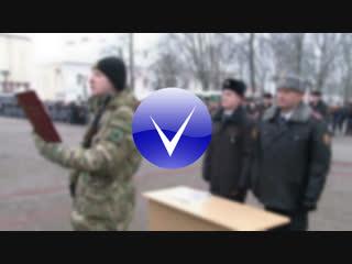 Новобранцы внутренних войск МВД РБ произнесли слова клятвы на верность Родине.