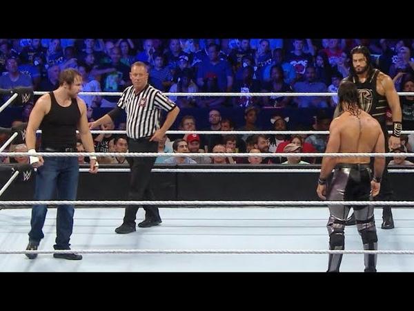 Roman Reigns vs Dean Ambrose vs Seth Rollins - WWE Title Triple Threat Match: WWE Battleground 2016