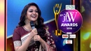 Gorgeous Keerthy Suresh speech at JFW Awards 2018 | I was blessed by Savitiri Amma