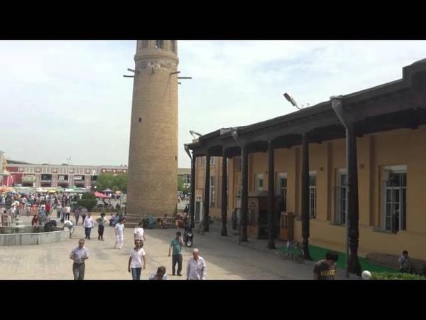 Призыв на молитву в мечети Шейха Муслихиддина