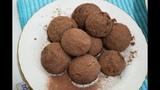 Печенье в обсыпке с какао и корицей K
