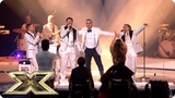 Take That and Robbie sing Shine and Everything Changes Final The X Factor UK 2018