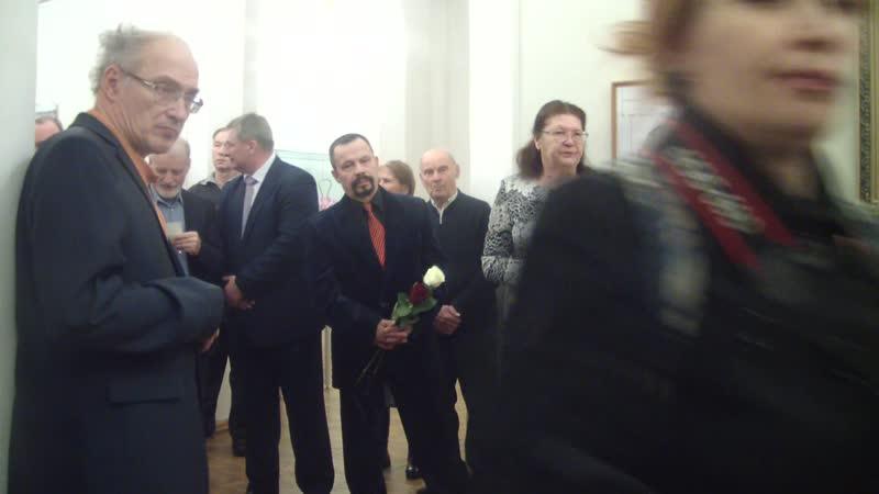 Открытие выставки Левенштейн